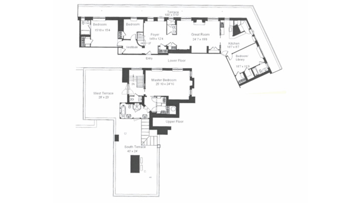 Huguette Clark Mansion Floor Plans