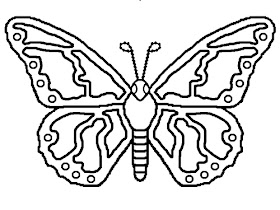 Butterfly coloring pages | Free Coloring Pages | 210x280