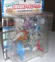 Pokemon Figure Clear Ver Movie 5th Set Tomy