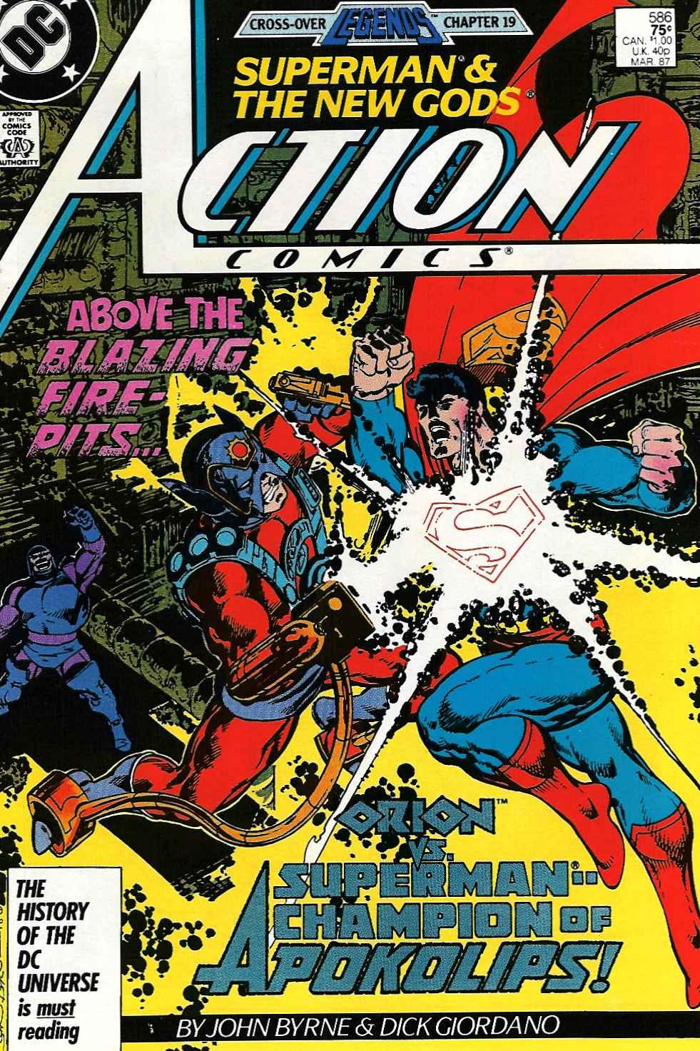 Action Comics (1938) 586 Page 1
