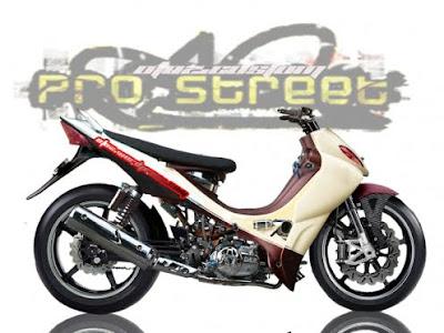 New Modify Yamaha Jupiter Z Racing Look Sportbike New