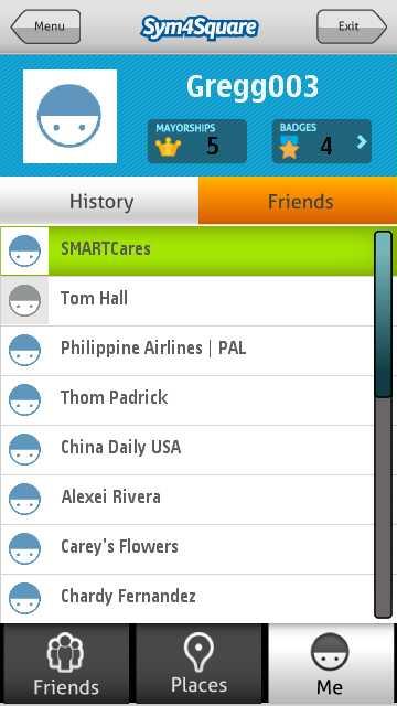 Foursquare symbian s60v5