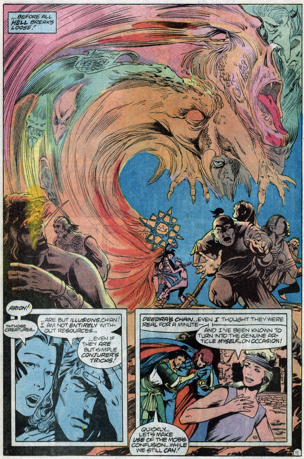 Read online Arion, Lord of Atlantis comic -  Issue #14 - 13