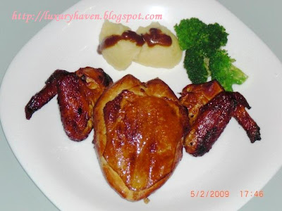 valentine's day aromatic tea-smoked chicken recipe