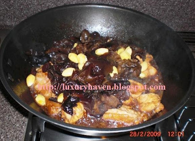 how to cook chinese fungus chicken