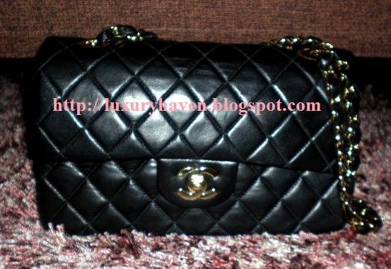 how lambskin classic chanel flap bag looks like