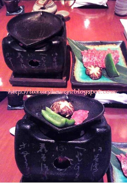 inter-con hotel ko japanese restaurant wagyu beef