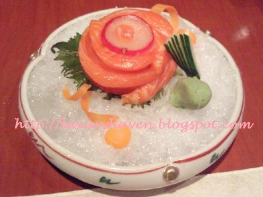 inter-con hotel ko japanese restaurant sashimi