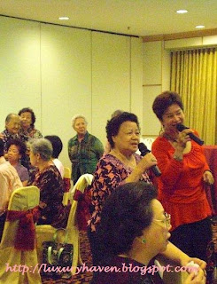 singapore old folks karaoke singing party