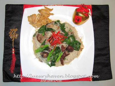 cooking chinese new year heavenly pork bee hoon