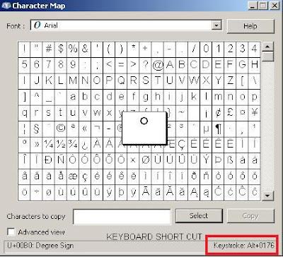 Revit Fix: Text Symbols / Character Map (charmap)