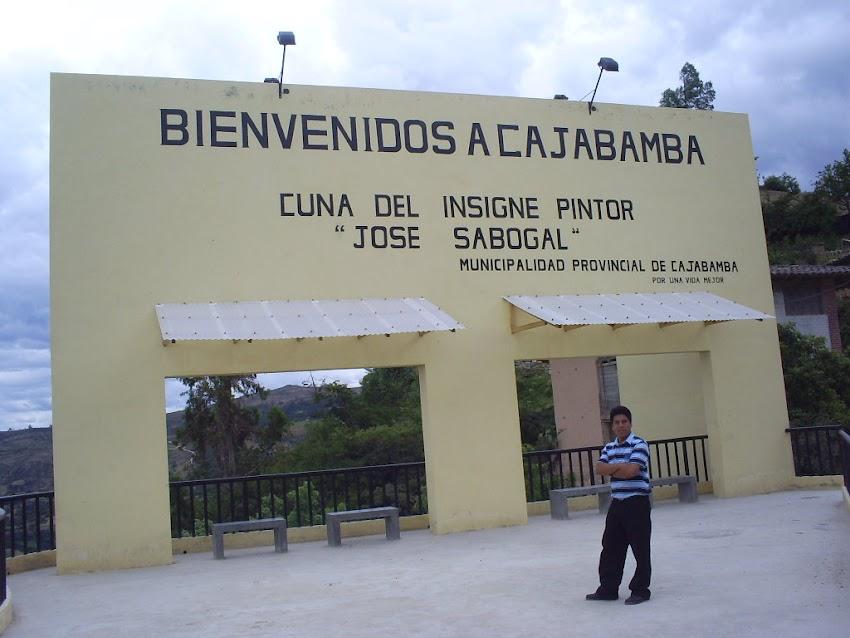 Mural de Bienvenida a Cajabamba