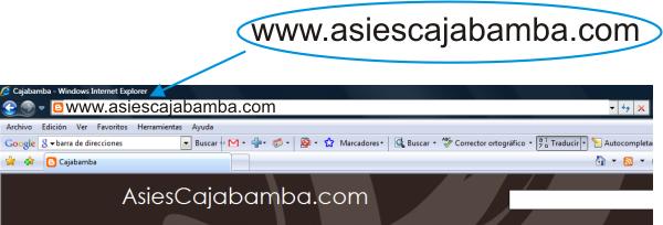 Ahora somos: www.asiescajabamba.com