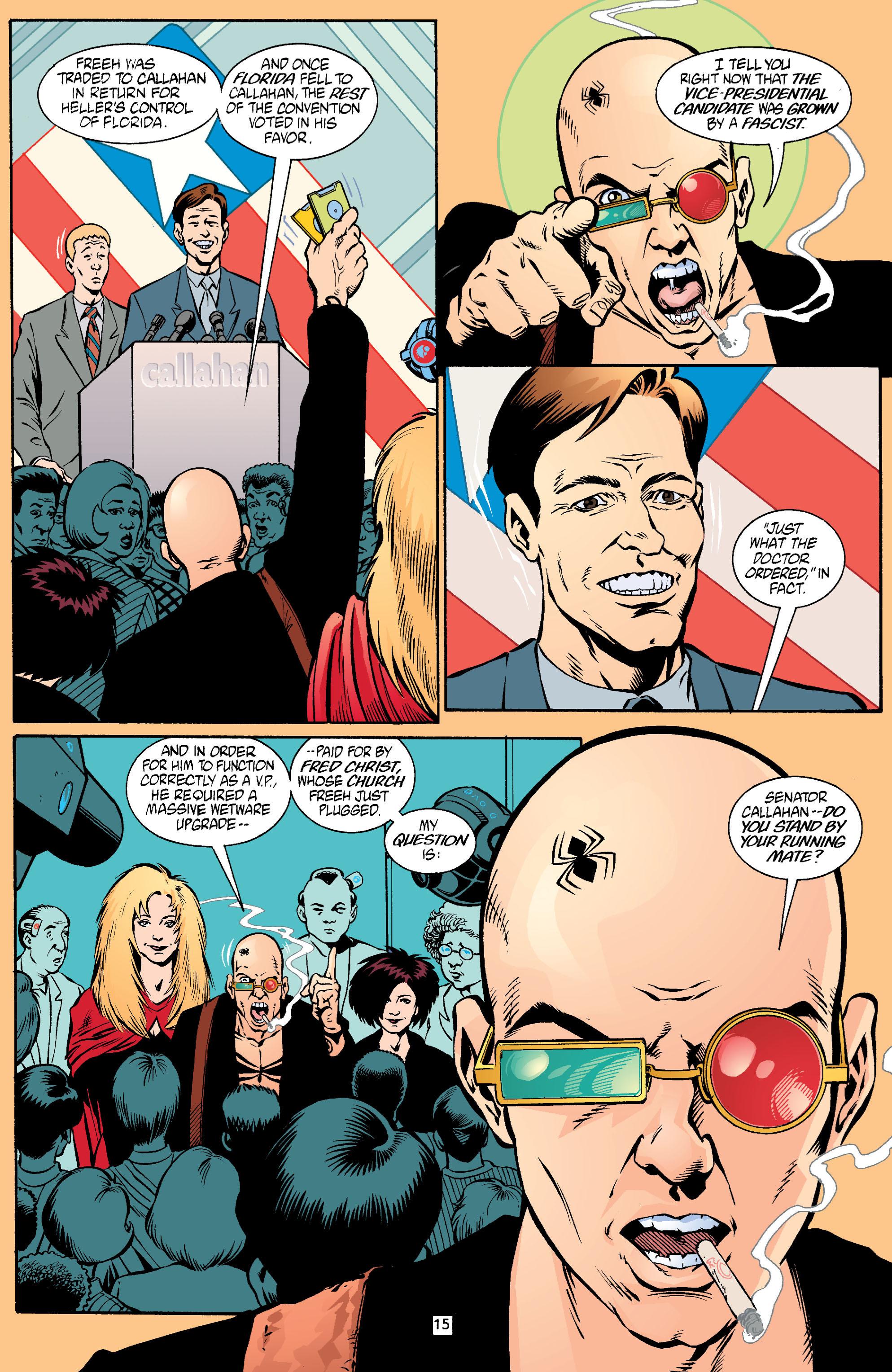 Read online Transmetropolitan comic -  Issue #18 - 16