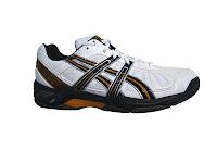 Asics Gel Resolution  Pink White Junior Shoe