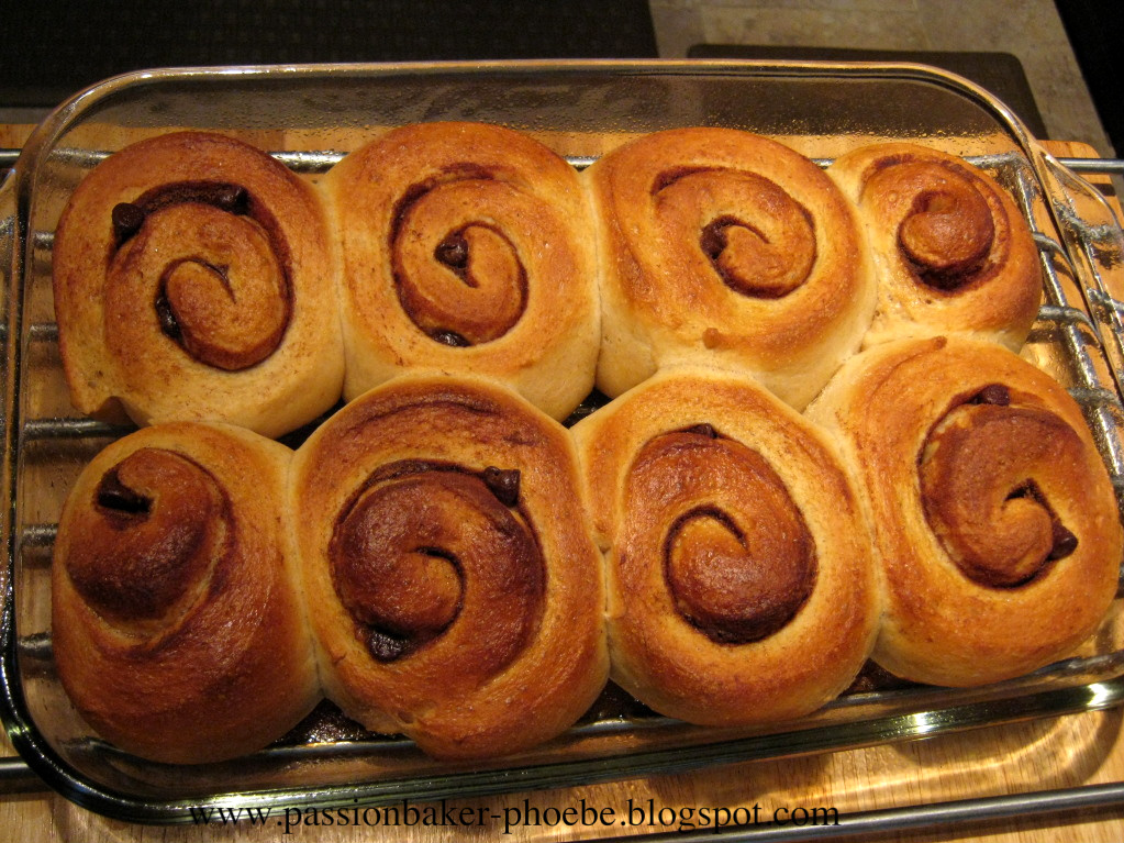 More Than Bread Whole Wheat Cinnamon Buns Using Tong Zhong