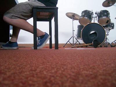 280/365 - Isaac playing the piano at camp
