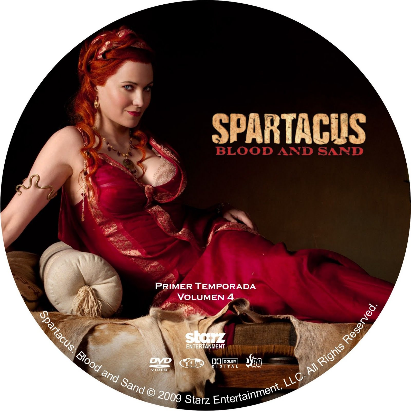 4 season spartacus tv