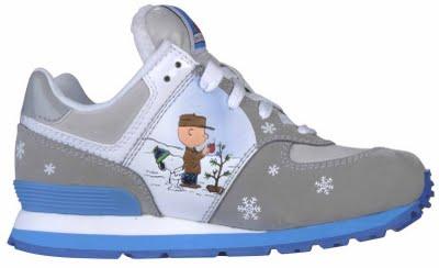 de4b4fab68 Charlie Brown Put into New Balance Shoes