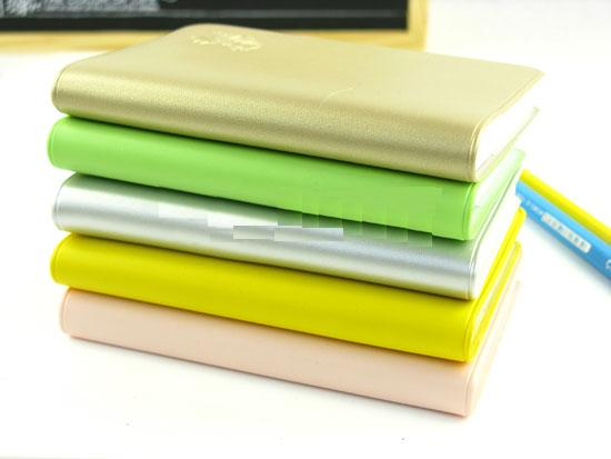 Shopping with Tea Notebooks / Schedule Organizers