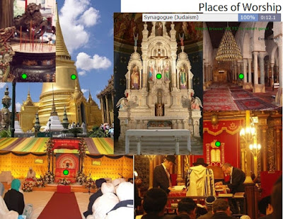 Chiew's CLIL EFL ESL Blog: Places of Worship