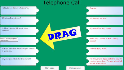 Chiew's ESL EFL CLIL Dialogue Telephone Games Activities