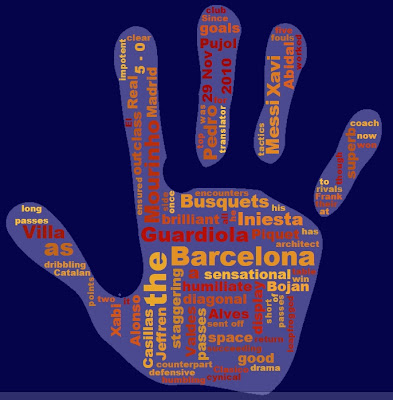 Chiew's ELL EFL ESL CLIL Online Games Activities Resources: Barcelona Real Madrid 5-0 Nov 29 2010