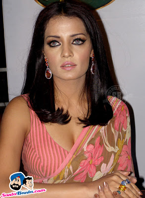 Celina Jaitley in Saree Show at Signature 7 Sensation Tour