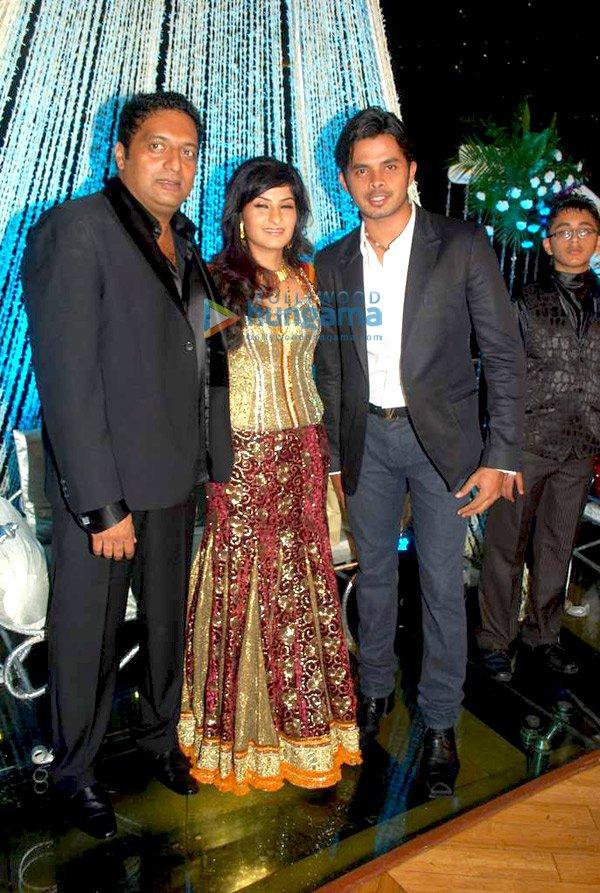 Prakash Raj Pony Vermas Wedding Reception Pictures Celebnews
