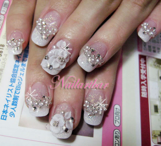 Wallpaper World: Beautiful Nail Designs Gallery Pics