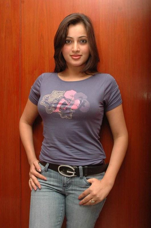 Indian Home Girl Wallpaper Wallpaper World Telugu Films Navneet Kaur Sexy Blue Tight