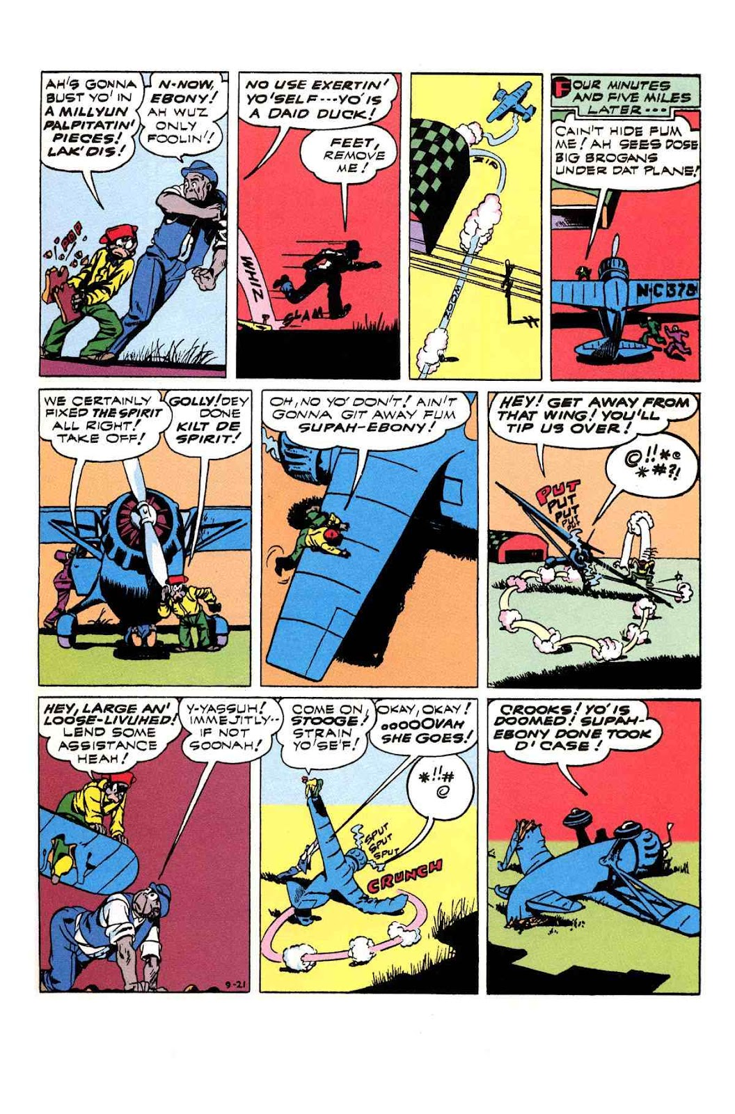 Read online Will Eisner's The Spirit Archives comic -  Issue # TPB 3 (Part 1) - 96