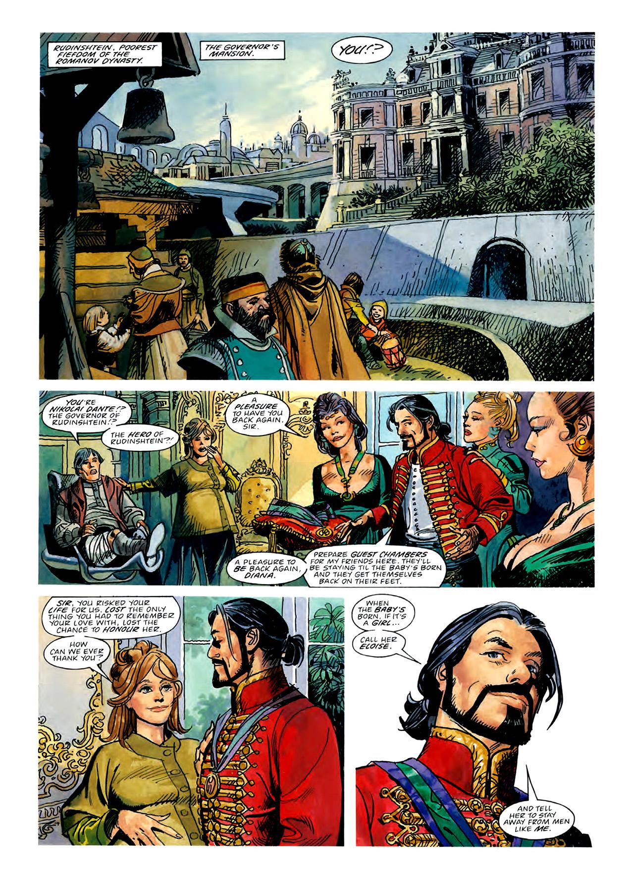 Read online Nikolai Dante comic -  Issue # TPB 3 - 58