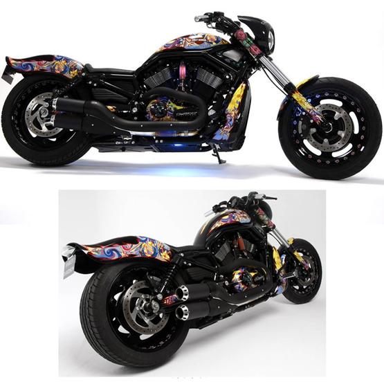 La Harley Davidson Custo se subasta