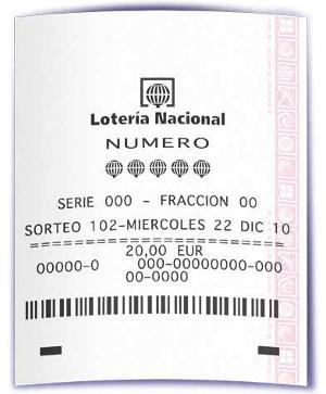 Lotería de Navidad los números de la suerte 2010