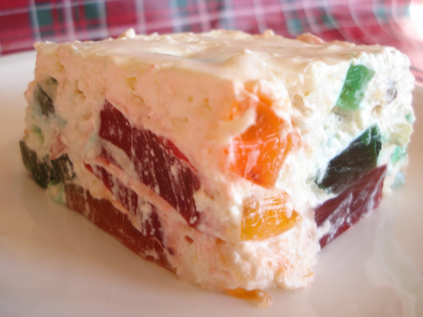 Christmas Dinner Stained Gl Window Jello