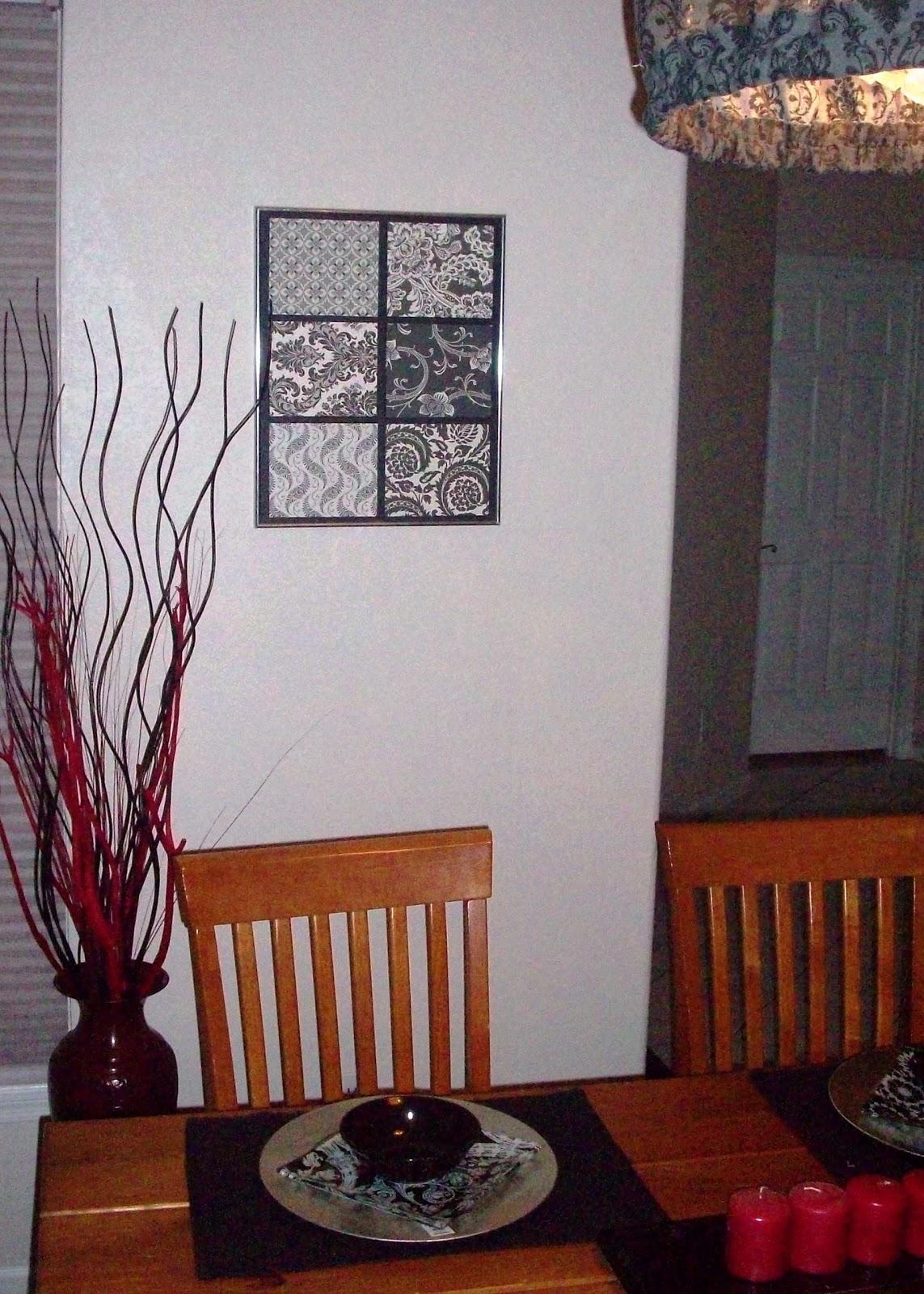 3d Wall Art For Contemporary Homes: Scrapbook Paper 3D Wall Art