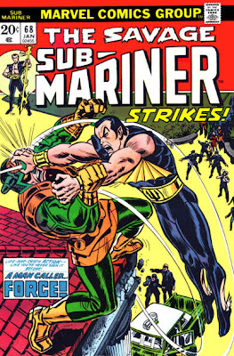 Sub-Mariner #68, A Man Called Force, John Romita