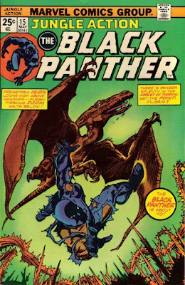 Don McGregor, Black Panther, Jungle Tales #15, K'Ruel