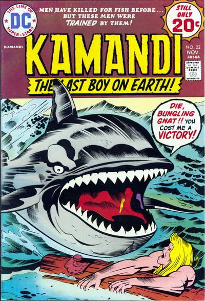 Jack Kirby, Kamandi and the killer whale