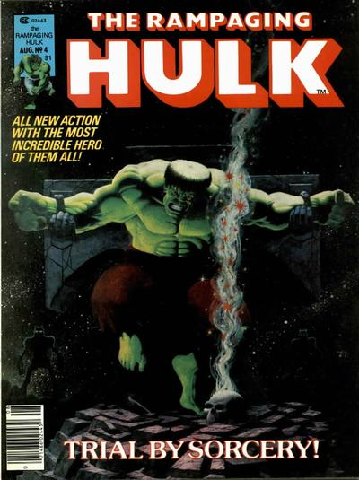 Jim Starlin, Rampaging Hulk crucified