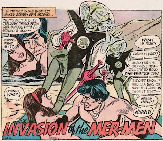 Adventure Comics #408, Supergirl, aliens on the beach