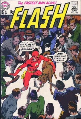 The Flash #195, Neal Adams cover