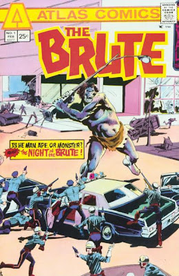 Atlas Comics The Brute #1