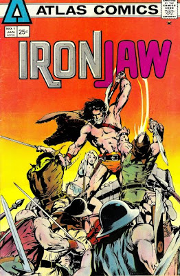 Atlas Comics Ironjaw #1, Neal Adams cover