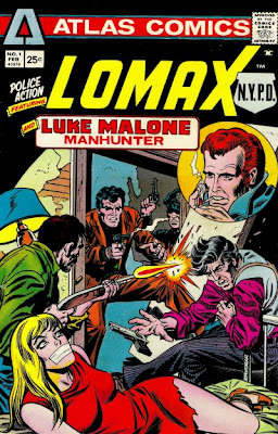 Lomax and Luke Malone, Atlas Comics, Police Action #1