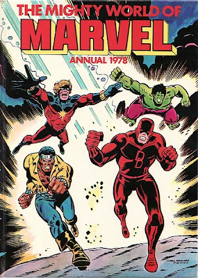 Mighty World of Marvel Annual 1978, Captain Marvel and Luke Cage, hero for hire