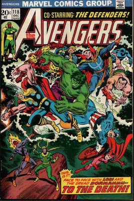 Avengers #118, the Defenders, Dormammu and the Evil Eye