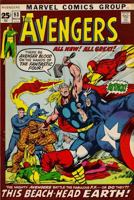 Avengers #93, Neal Adams, the Kree/Skrull War
