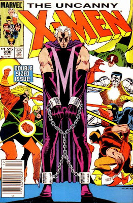 Uncanny X-Men #200, Magneto in chains